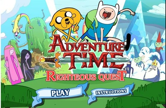 Free-to-play! Team up as Finn and Jake to slay evil and rescue the princess!
