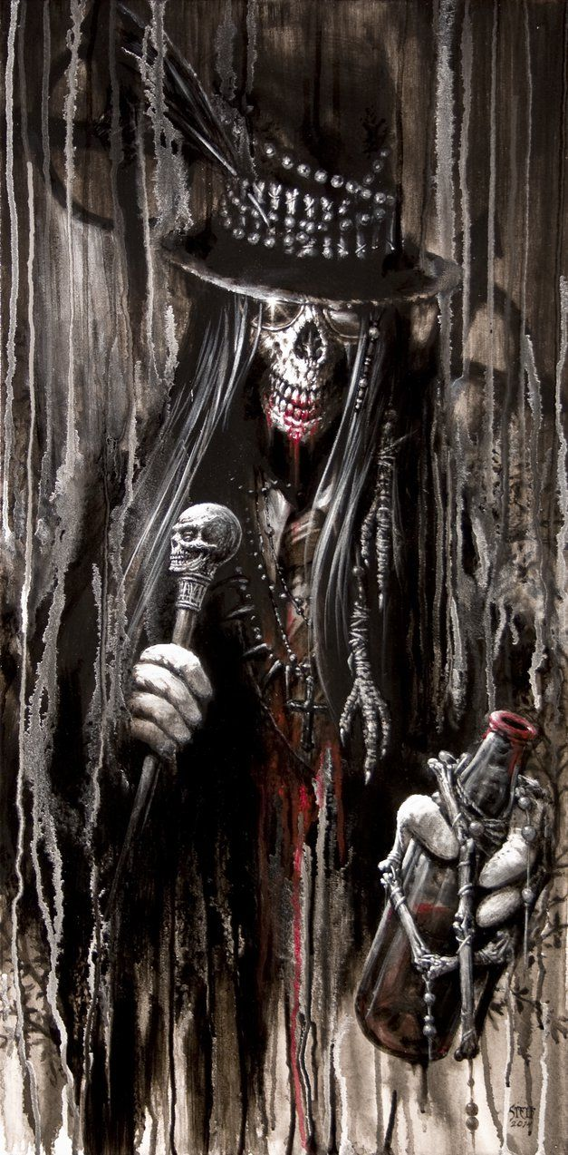 Baron Samedi by Stelf-2014 on deviantART ~Voodoo~