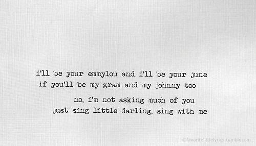 Emmylou lyrics - First Aid Kit