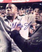 Magic Johnson & Kobe Bryant Autographed 8x10 Photo