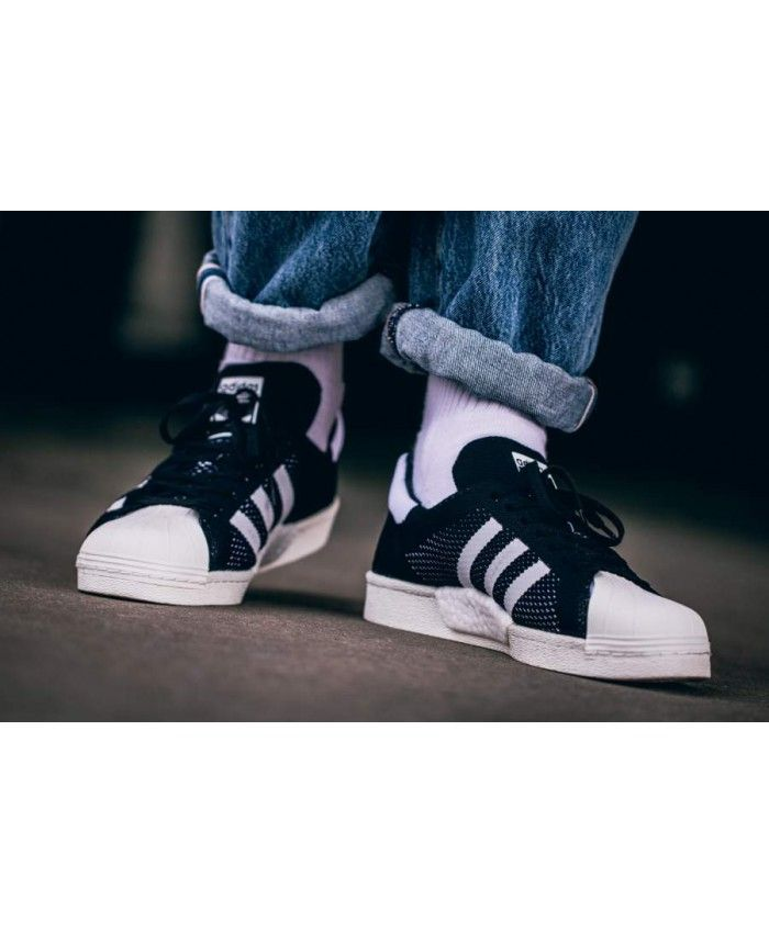 2fbf76084c97 Adidas Superstar Boost PK black BB0191
