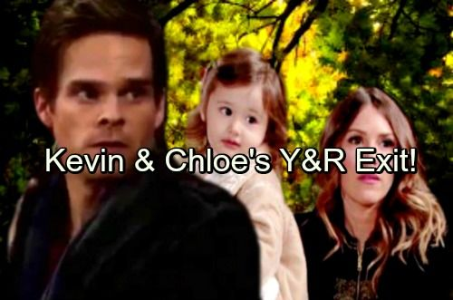The Young and the Restless Spoilers: Chloe Faces Prison, Kevin Helps Her Escape – Y&R Exit As Couple Goes on the Run with Bella