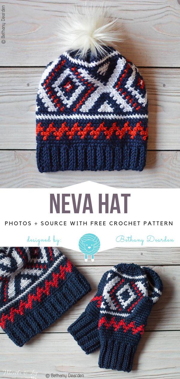Neva Hat Free Crochet Pattern