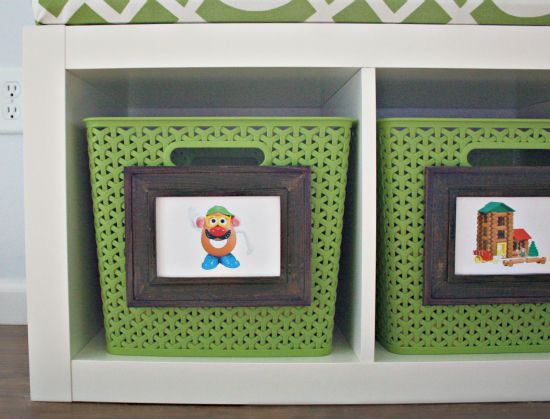 Labeling Toy Baskets/Bins
