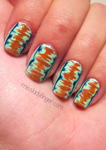 33 best nails psychedelic and rainbows images on pinterest matthew williamson inspired nail art to diy prinsesfo Choice Image