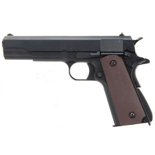 Pistola KJW K1911 semiautomática de gas recargable. Peso, textura y comportamiento como una real. Calidad KJWORKS. Experiencia única a un gran precio. ¡COMPRUÉBALO! #KJWORKS #KJW #K1911 #pistolas