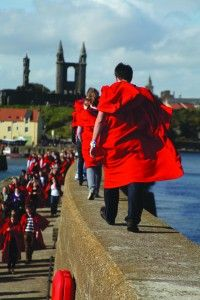A guide to St Andew's University traditions. Pier walk