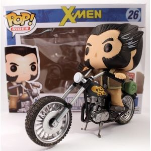 Wolverine's Motorcycle Pop Vinyl Pop Rides | Pop Price Guide
