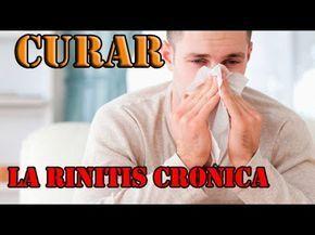 Como combatir rinitis crónica en una semana! Remedios caseros para la rinitis y sinusitis. - YouTube
