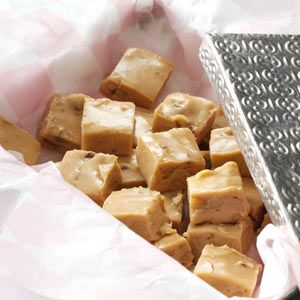 Penuche Fudge Recipe -This is a favorite recipe that has been in our family for over 20 years. My aunt taught me how to make it when I was 12 years old and I am still making it today. —Jhana Seidler, Venice, Florida