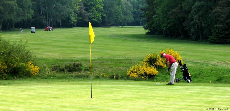 Golf in Wallonia (Belgium)