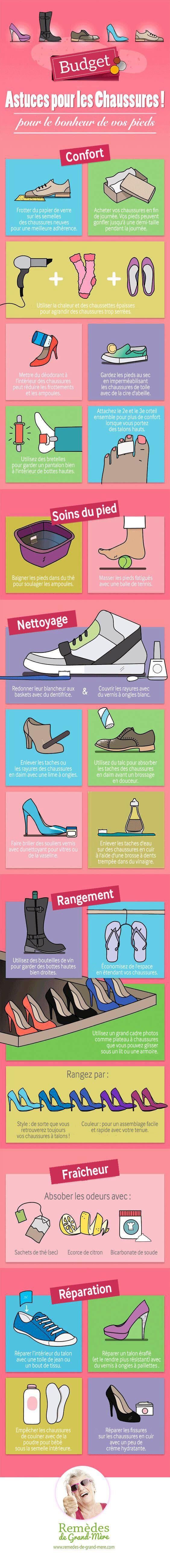 trucs et astuces chaussures