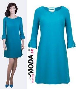 Zelené elegantné šaty - trendymoda.sk