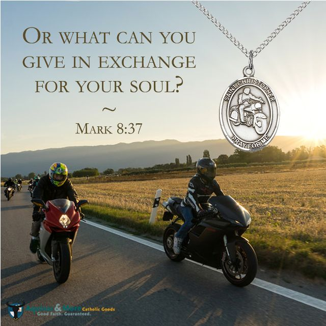 Or what can you give in exchange for your soul? --Mark 8:37  Who is your favorite saint? Our patron saint medals are at 20% off all-month long.