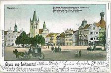 VINTAGE POSTCARD:  CZECH REPUBLIC -  Litoměřice - Leitmeritz  1900