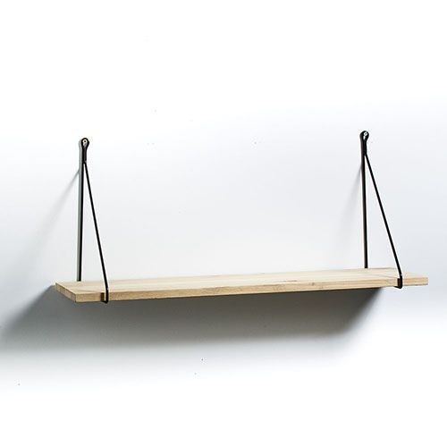 Hanoi Hanging Shelf Black