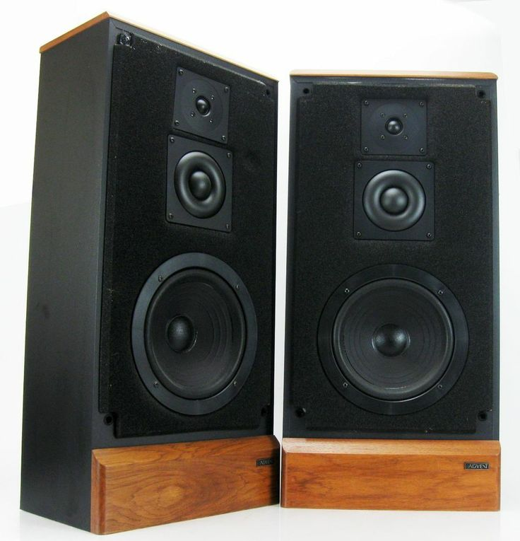 ADVENT MAESTRO 3-WAY FLOOR SPEAKERS DOME MIDRANGE & TWEETERS * SUPERB!