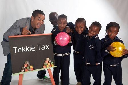 Denver Vraagom supports the children section of Tekkie Tax http://www.tekkietax.co.za/