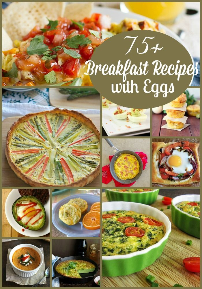 75+ Breakfast Recipes with Eggs