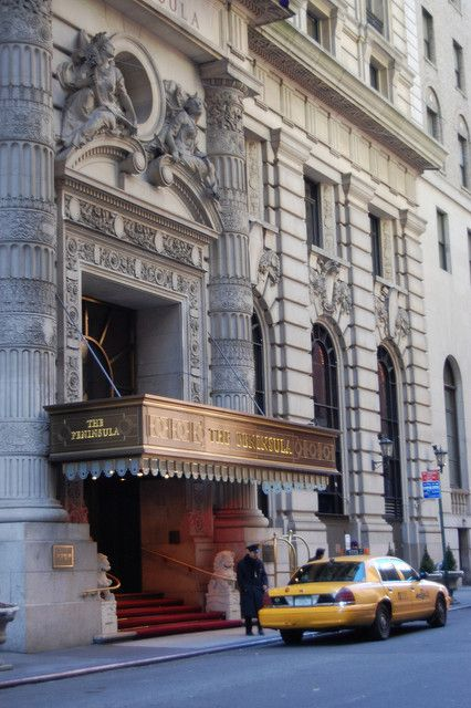 The Peninsula Hotel - Upper East Side, New York by Pedruca, via Flickr