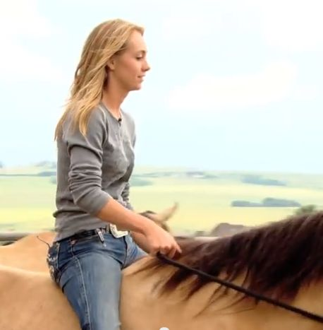 Amber Marshall (from CBCtv's Amber Marshall's Wedding Pt.1) http://www.youtube.com/watch?v=LFjj-PmLruo