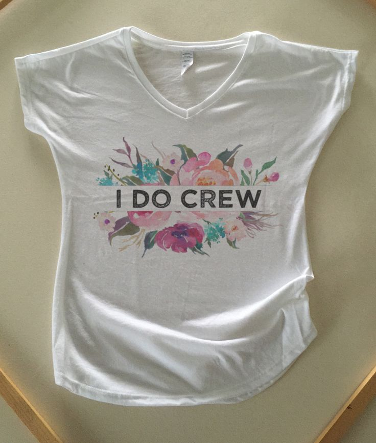 I do Crew - Wedding Bridesmaids shirts, Bachelorette Shirts, bachelorette party, bridesmaids gift, bridesmaid tee, Maid of Honor gift