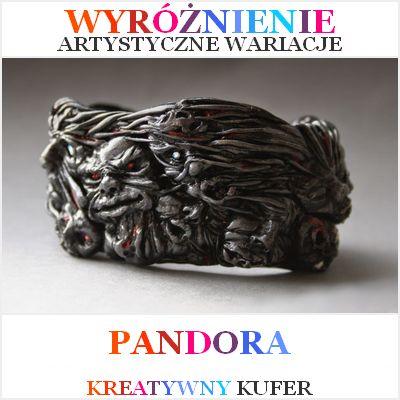 Wyniki Wyzwania Tematycznego - Mityczna postać: Pandora | Kreatywny Kufer http://artystycznewariacje.blogspot.co.uk/