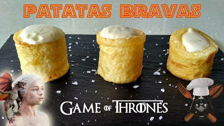 Patatas Bravas al estilo Targaryen