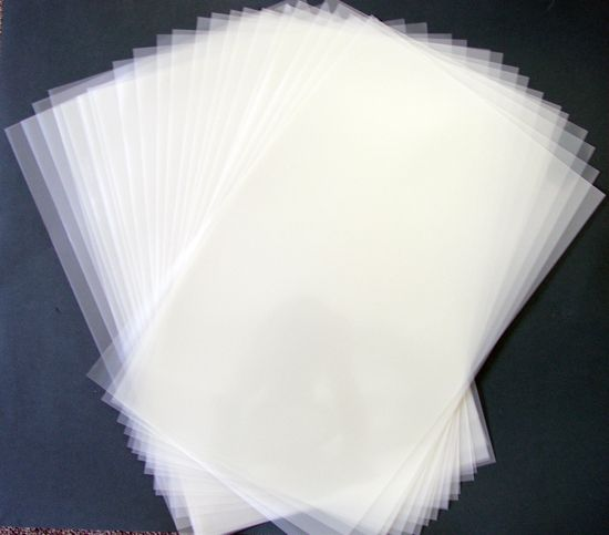 Blank 12 X 18 Sheets Of Durable Reusable 4 Mil Mylar
