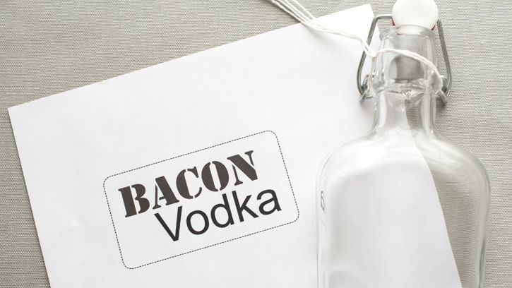 Bacon Infused Vodka - for Bloody Mary's