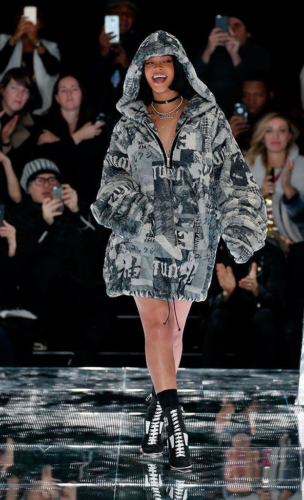 Fenty Puma Fall Winter 2016 Rihanna, New York Fashion Week