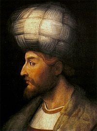 Shah Ismail I, the founder of Safavid Dynasty of Iran.