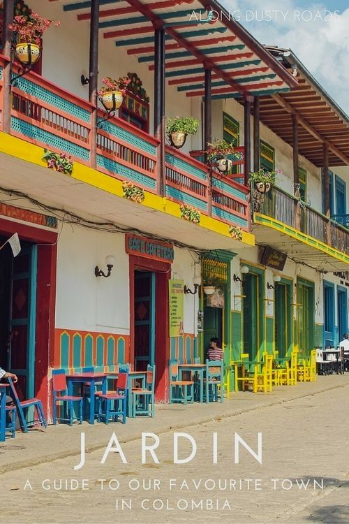 Our favourite pueblo in Colombia isn't in the guidebooks. Whilst Salento and Guatapé are very popular on the backpacker trail, little Jardin was all ours. Here's our guide to the town.  Colombia Vacation  हमारी साइट को अधिक जानकारी प्राप्त करें   https://storelatina.com/colombia/travelling #recetas #कोलंबिया #Kolumbija #colombiana
