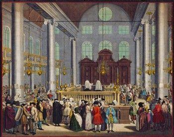 Geschiedenis van de Joodse Portugese synagoge