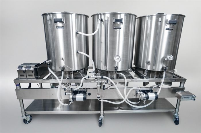 1 Bbl Gas Herms Pilot System Blichmann Engineering Home Brewing Beer Bar Home Brewery