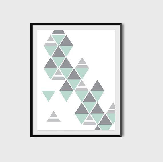 Geometric Art Minimalist Poster
