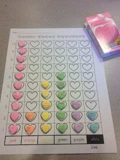 Valentine's Day Math Activity! - Re-pinned by Green Apple Lessons! For more fun ideas and craft activities visit http://www.GreenAppleLessons.com