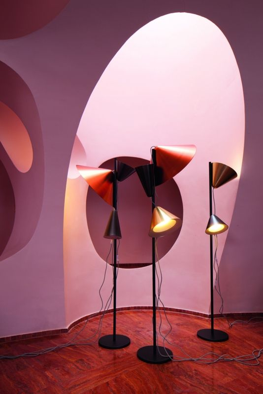 Atelier Pfister Collection 2012, Lavin lamps by Jörg Boner