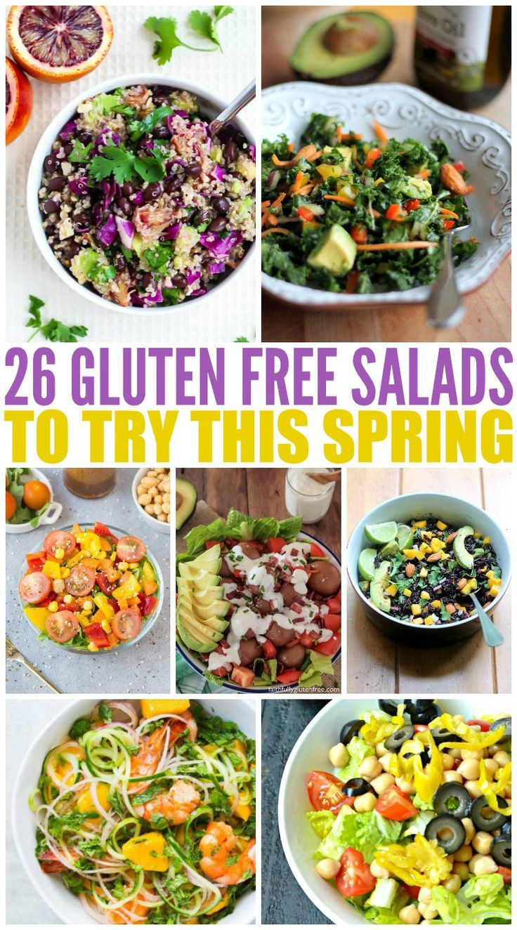 26 Gluten Free Salads to Try This Spring via @wendypolisi