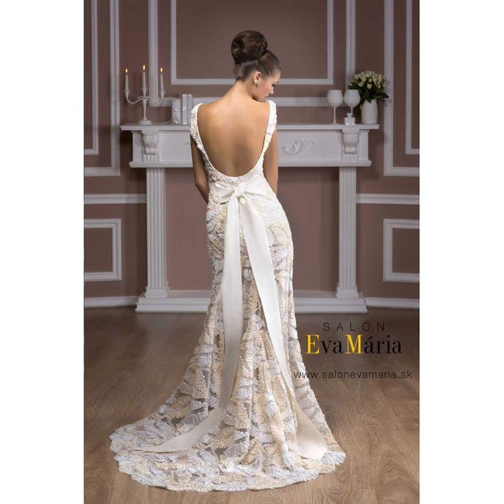 Biele svadobné šaty Rachel