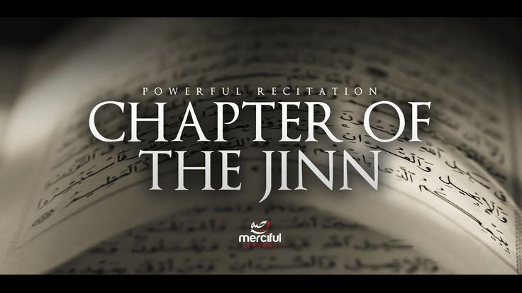 Chapter Al Jinn shows us how the Islamic faith also appeals to another world. Find out things that you never knew about the Jinn!