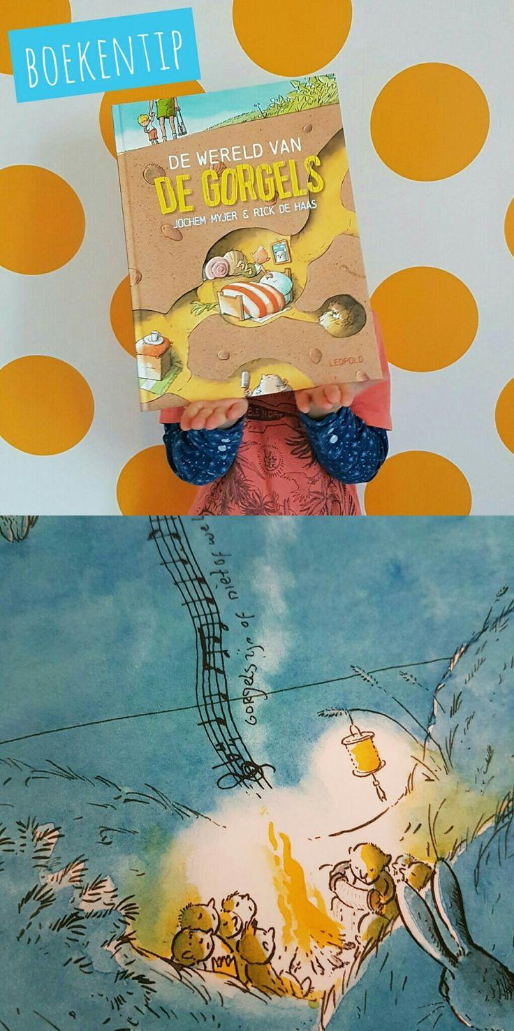Boekentip: prentenboek over de Wereld van de Gorgels #leukmetkids #kinderboek #prentenboek