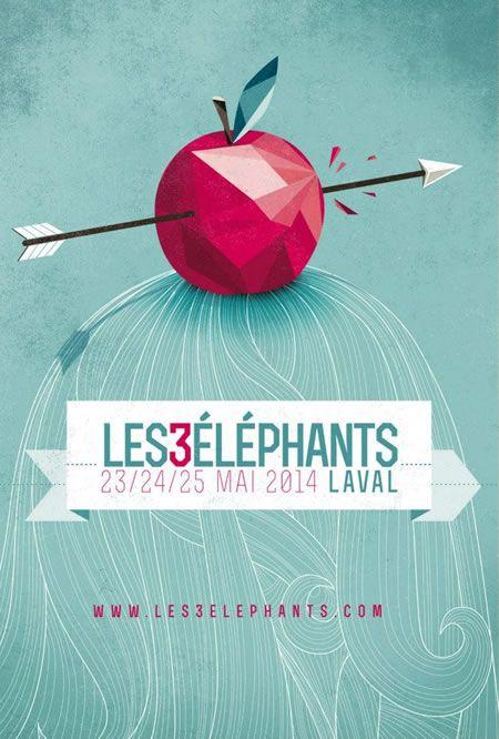 Programmation du Festival Les 3 Eléphants 2014