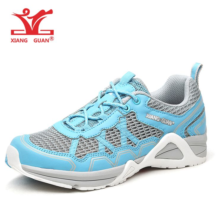 Quick Drying Soft ShoesWomen Mesh Non-Slip Resistant Trail Running Breathable Lightweight Shoes
