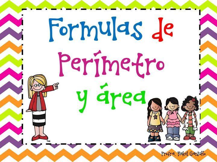 Fórmulas de perímetro y área - http://materialeducativo.org/formulas-de-perimetro-y-area/                                                                                                                                                                                 Más