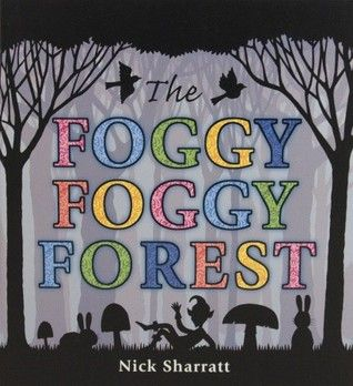 """Silhouettes of fairy tale characters are obsured in the """"fog"""" - vellum pages. Can you guess what those shadowy shapes are? Good for kiddos who are familiar with fairy tales. They will find the activities that the characters are doing to be funny."""