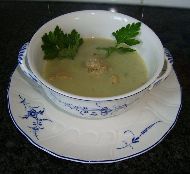 Slasoep met kruidenkaas   Recepten -