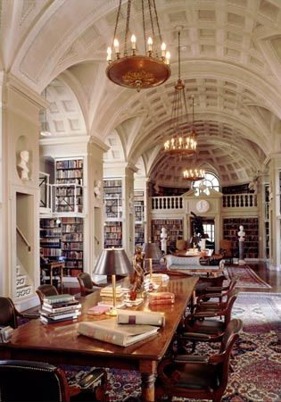 Library in Florence, designed by Michelangelo.