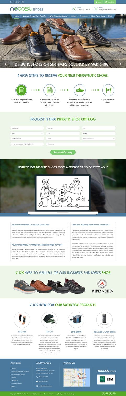 Healthcare website Diabetic Shoes Medicare No Cost