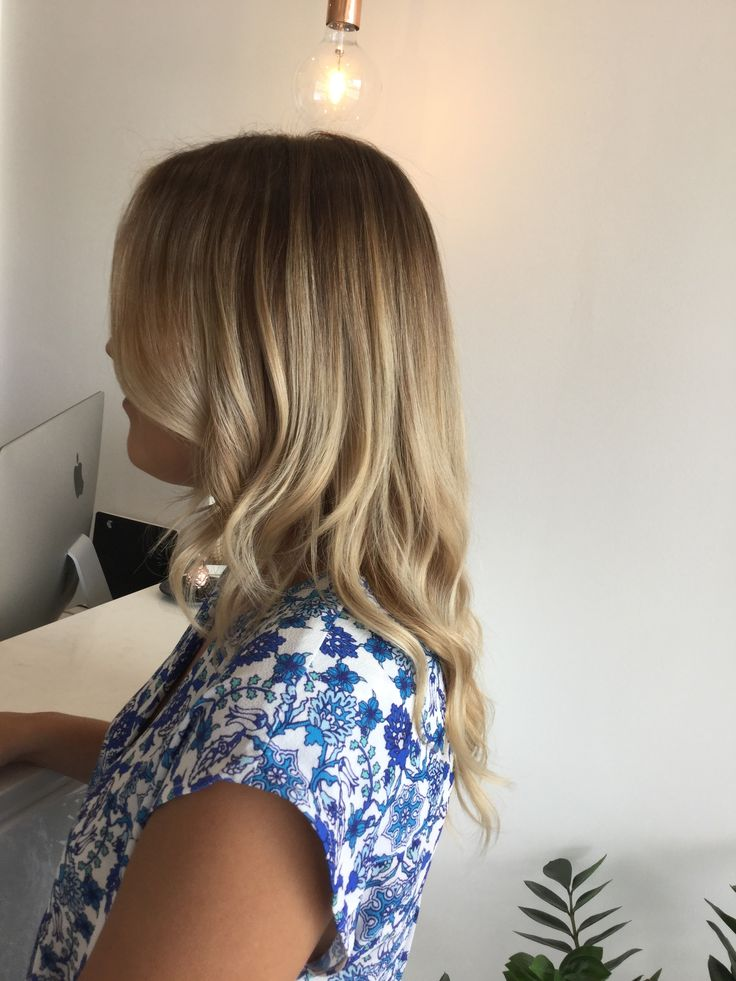 Fresh colour with a root shadow to create a softer grow out line and give a more lived in feel